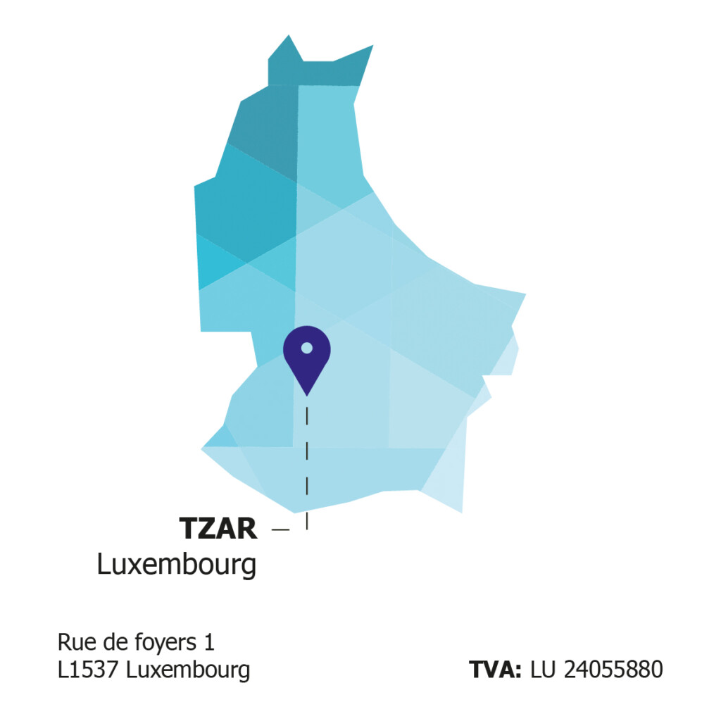 Tzar map Luxembourg